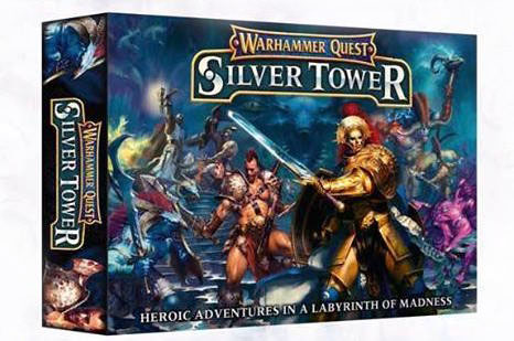 silver tower box